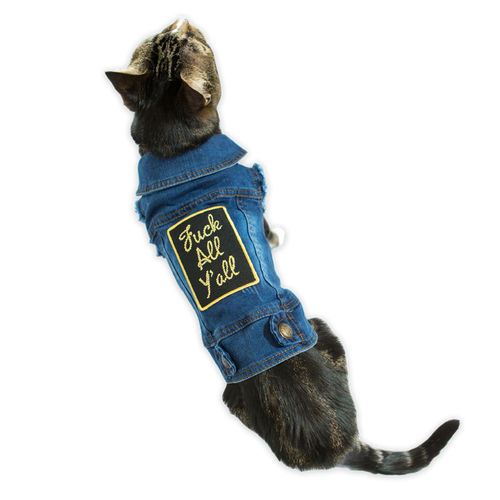Fuck All Y'all Pet Vest