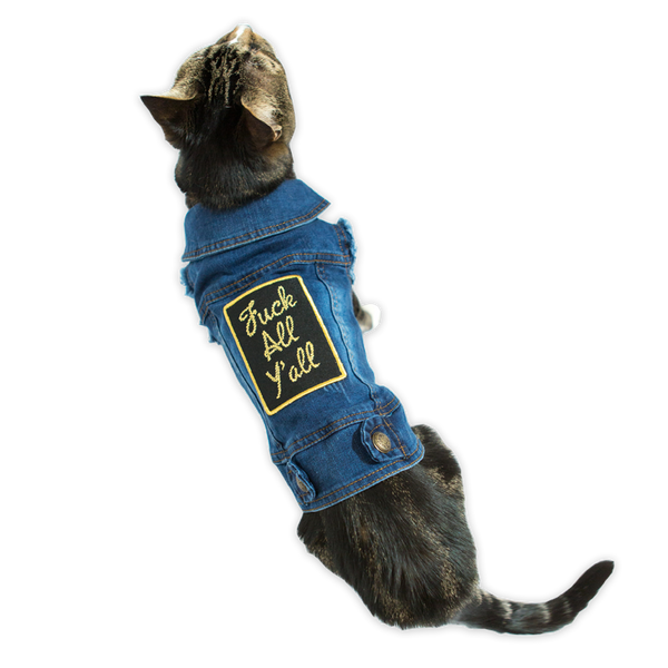 Fuck All Y'all Pet Vest (FREE KOOZIE!)