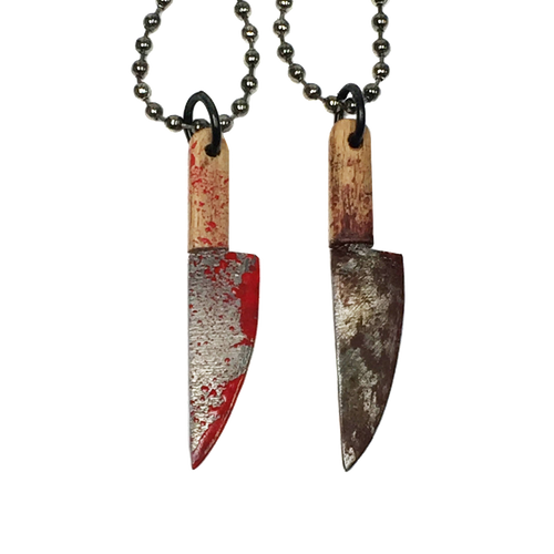Bloody Butcher Knife Necklace