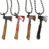 Bloody Hatchet Necklace