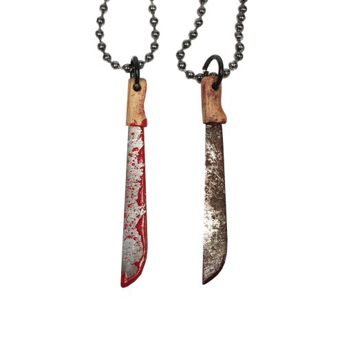 Bloody Machete Necklace