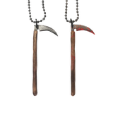 Bloody Reaper Scythe Necklace