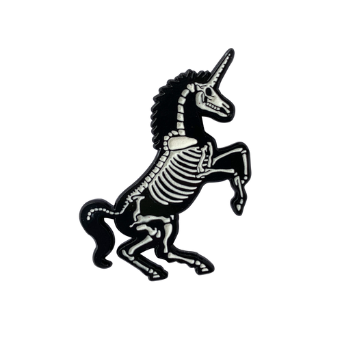 Unicorn Skeleton Pin