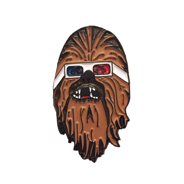3D Chewbacca Pin