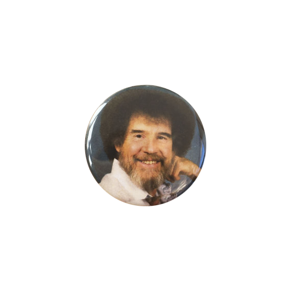Bob Ross Button