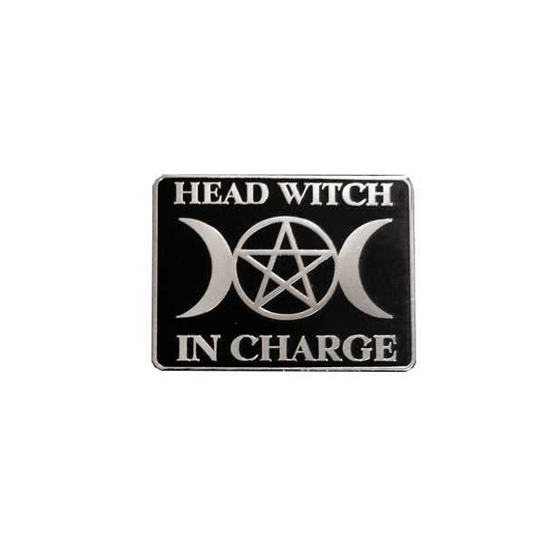 Head Witch in Charge Pin