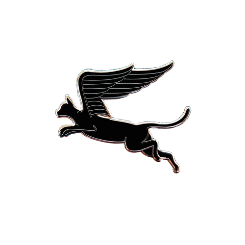 Cat Wings Pin