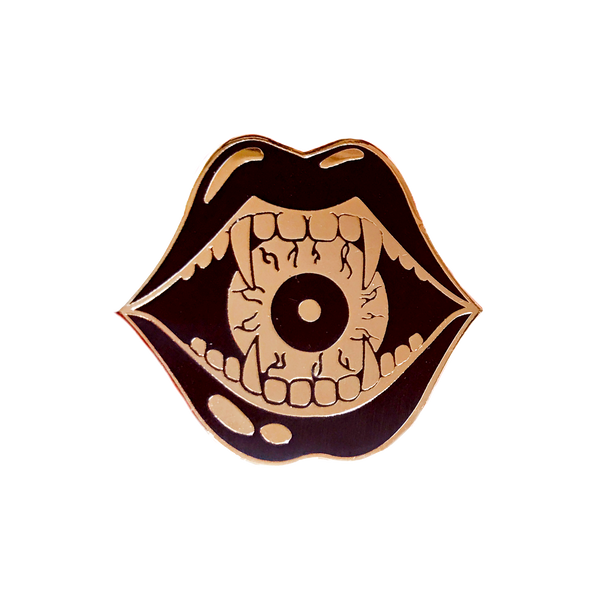 Eyeball Eater Pin