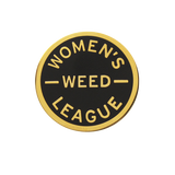 Women's Weed League Pin