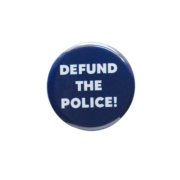 Defund the Police Button