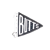Butts Flag Pin