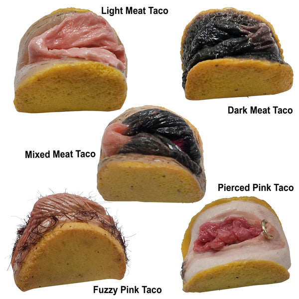 Meat Taco Pins (More Colors!)