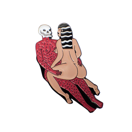 Agony and Ecstasy Pin