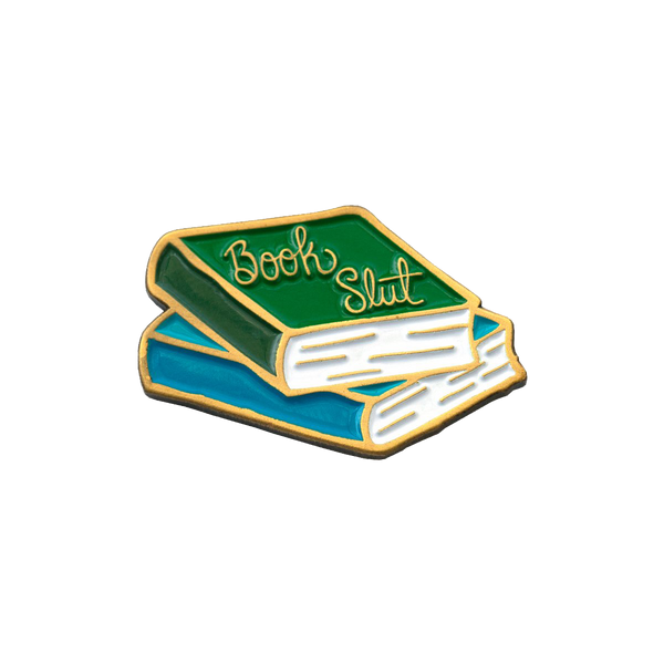 Book Slut Pin