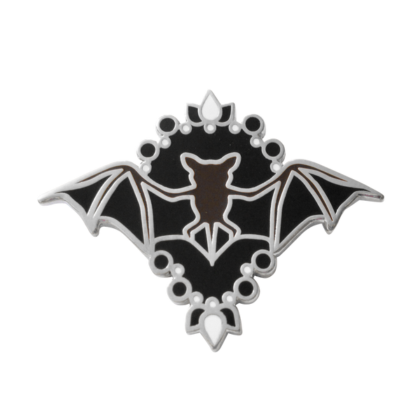Bat Amulet Pin