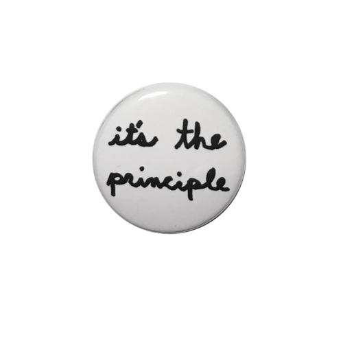 It's the Principle Button