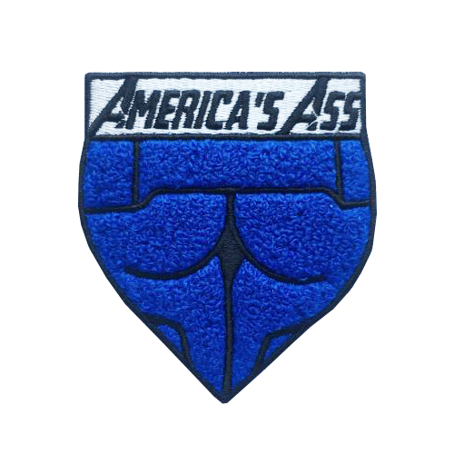 America's Ass Chenille Patch