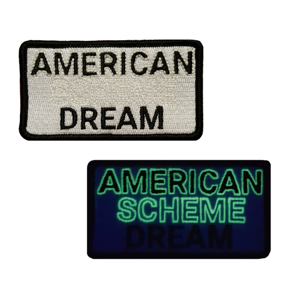 American Dream Patch (Glows in the Dark)