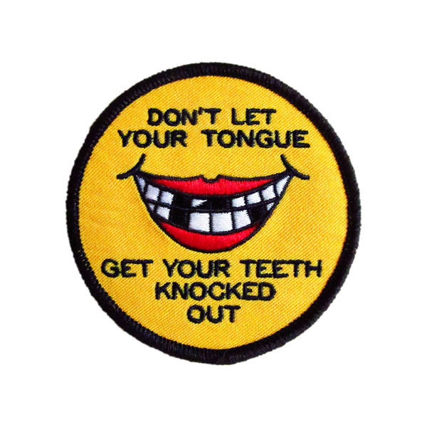 Watch Your Mouth Patch