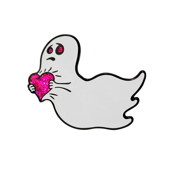 Love is Scary Pin