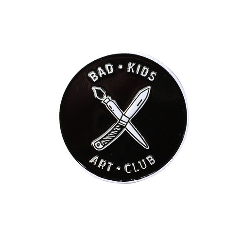 Bad Kids Art Club Pin