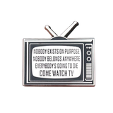 Rick and Morty - Come Watch TV Pin