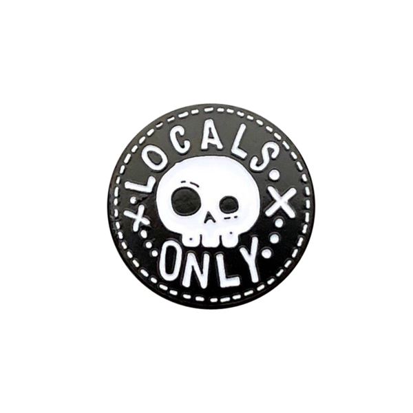 Locals Only Pin