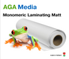AGA Monomeric Laminating Film Matt