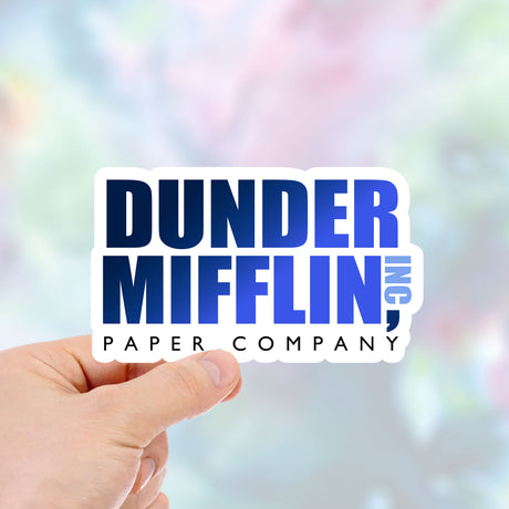 Dunder Mifflin Waterproof Vinyl Sticker  - Item413