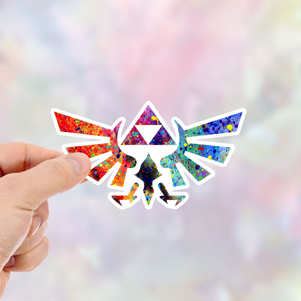 Legend of Zelda Modern Hyrule Link Vinyl Sticker - Item 428