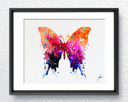 Butterfly Print Watercolor illustrations Wall Art Poster  Wall Decor Art Home Decor Wall Hanging Item 092