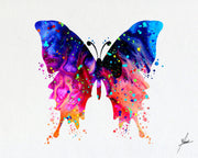Butterfly Watercolor illustration Art Print - Item093