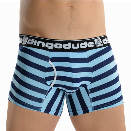 Blue and Navy Blue Mens Boxers Underwear