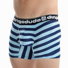 Sky Blue and Navy Blue Mens Boxers