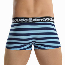 Blue and Navy Blue Mens Trunks Underwear