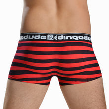 Red and Black Mens Trunks Underwear