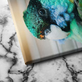 Aviary canvas wall art