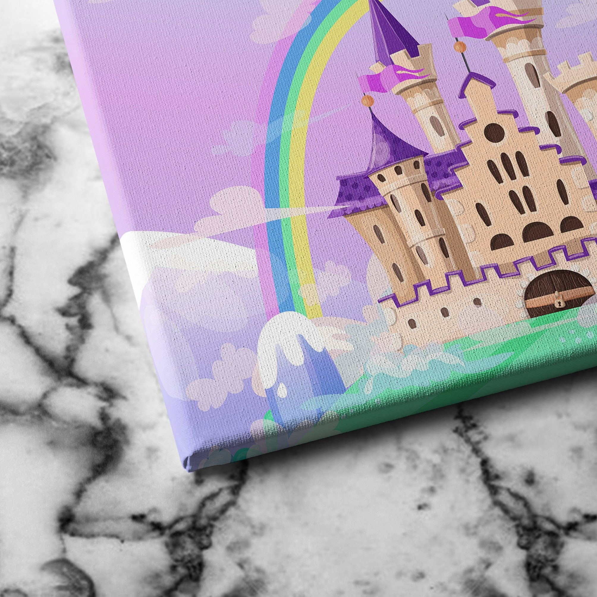 FairyTale Palace canvas art