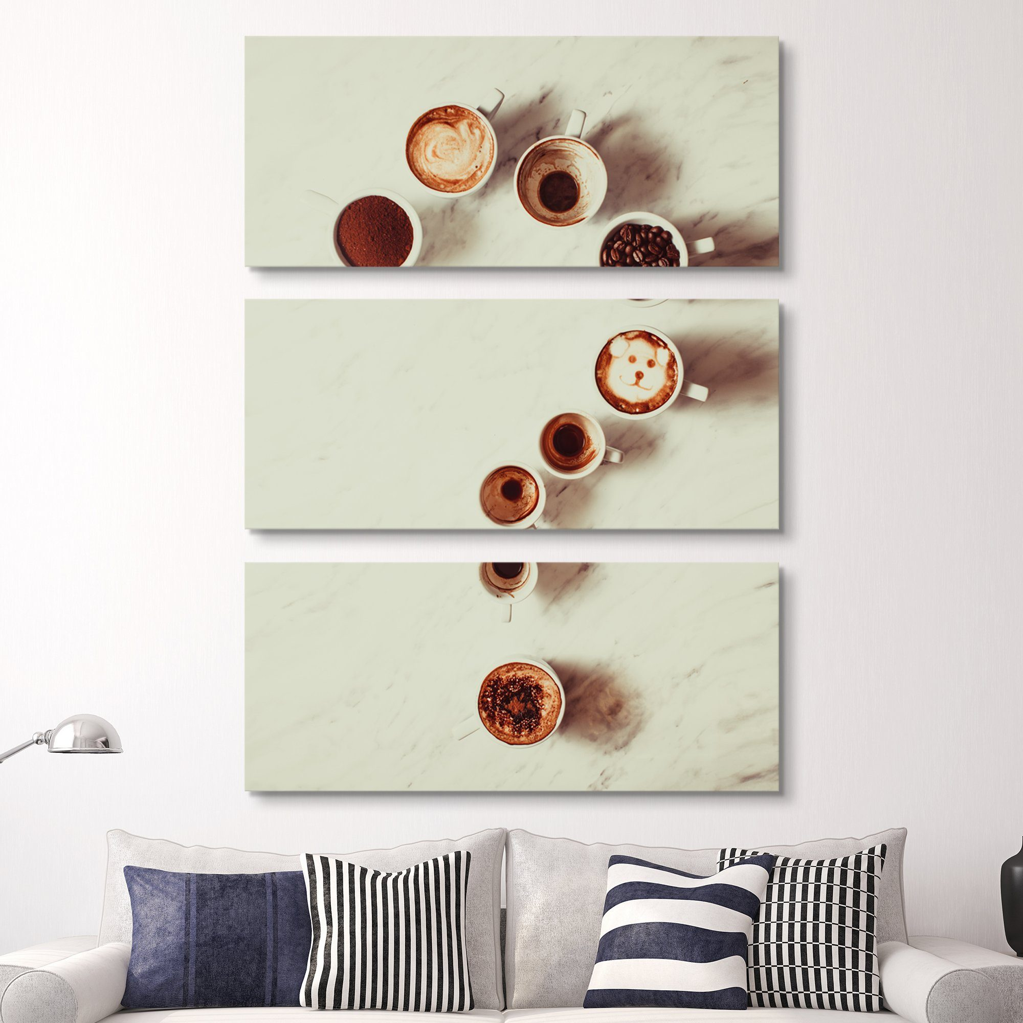 3 piece Ask Me wall art