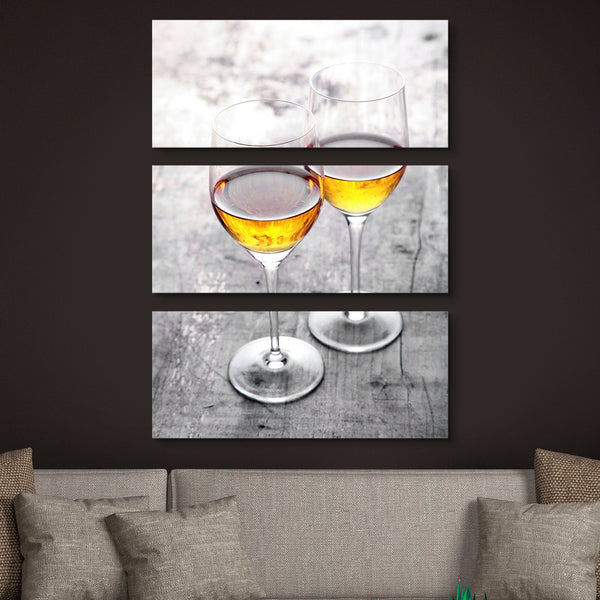 3 piece Cheers for Two wall art