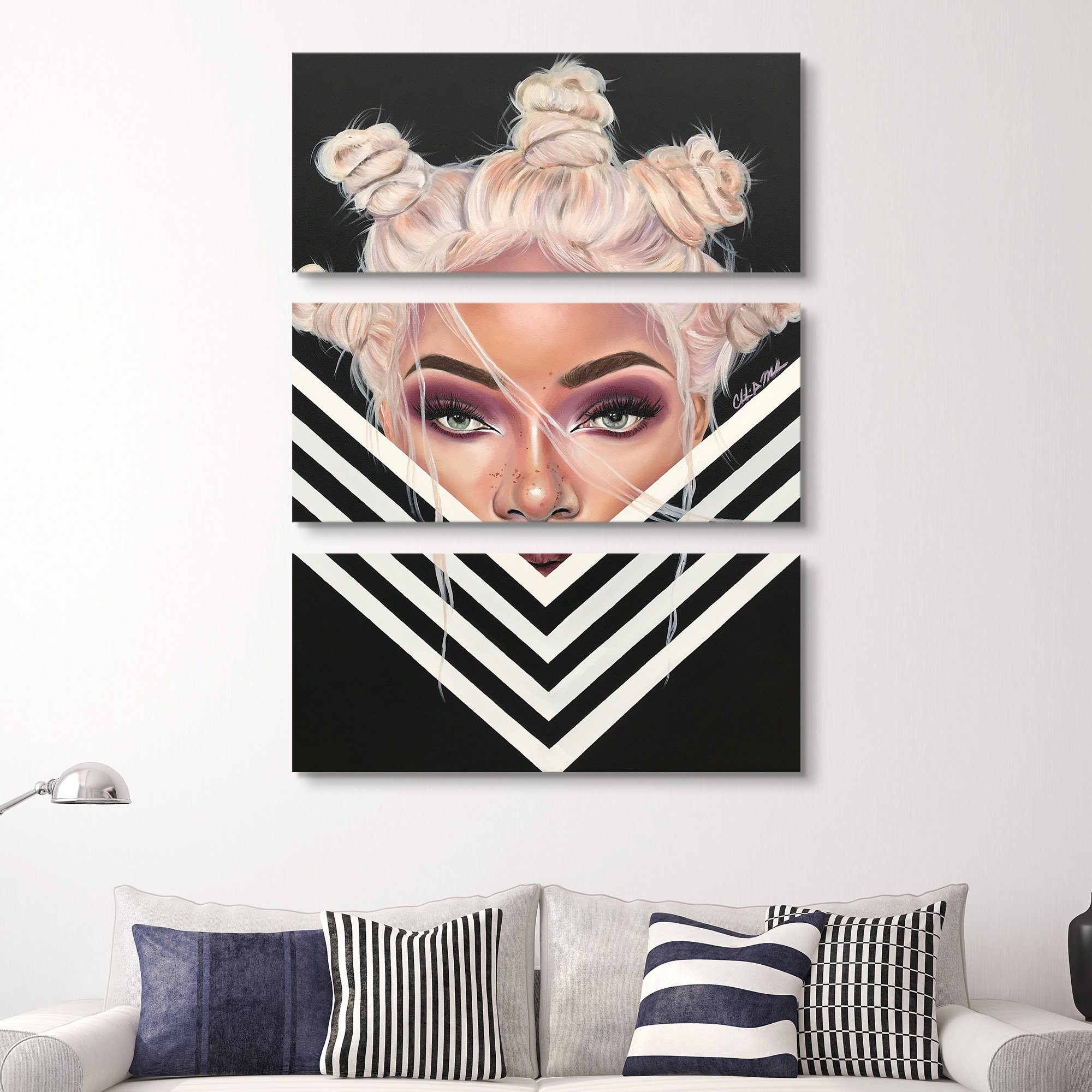 Stina Aleah - Tantalized wall art 3 piece