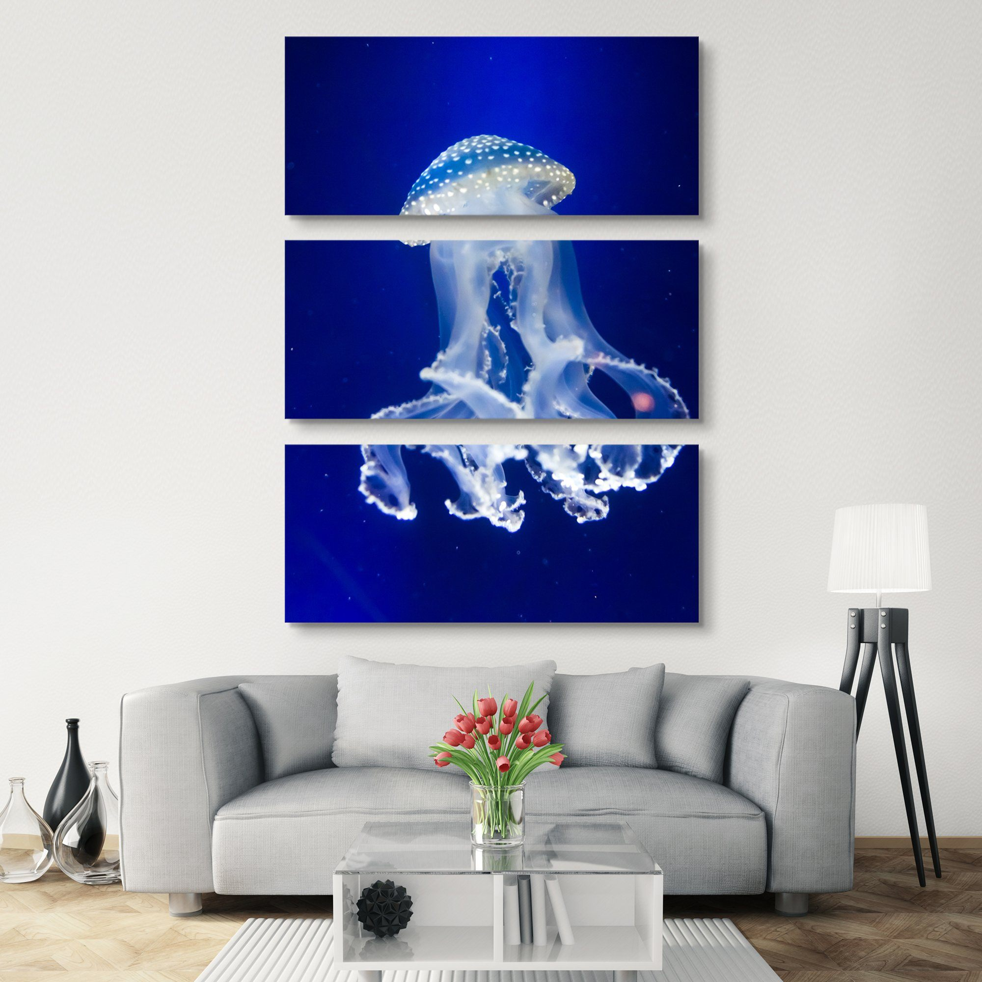 3 piece Underwater paradise wall art