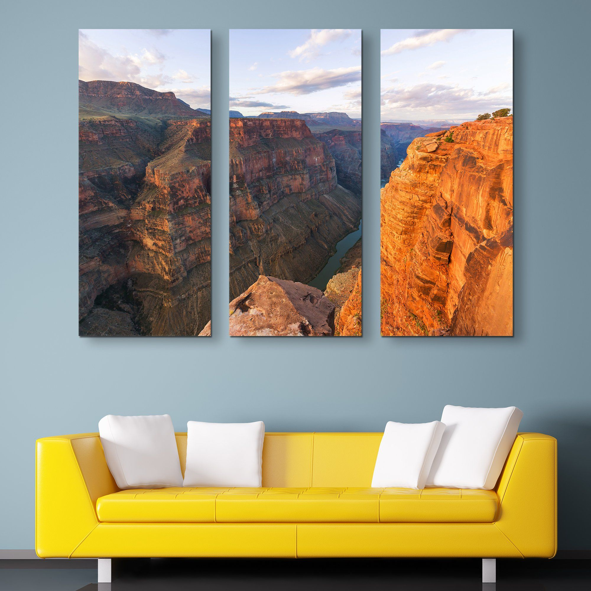Grand Canyon National Park wall art 3 piece