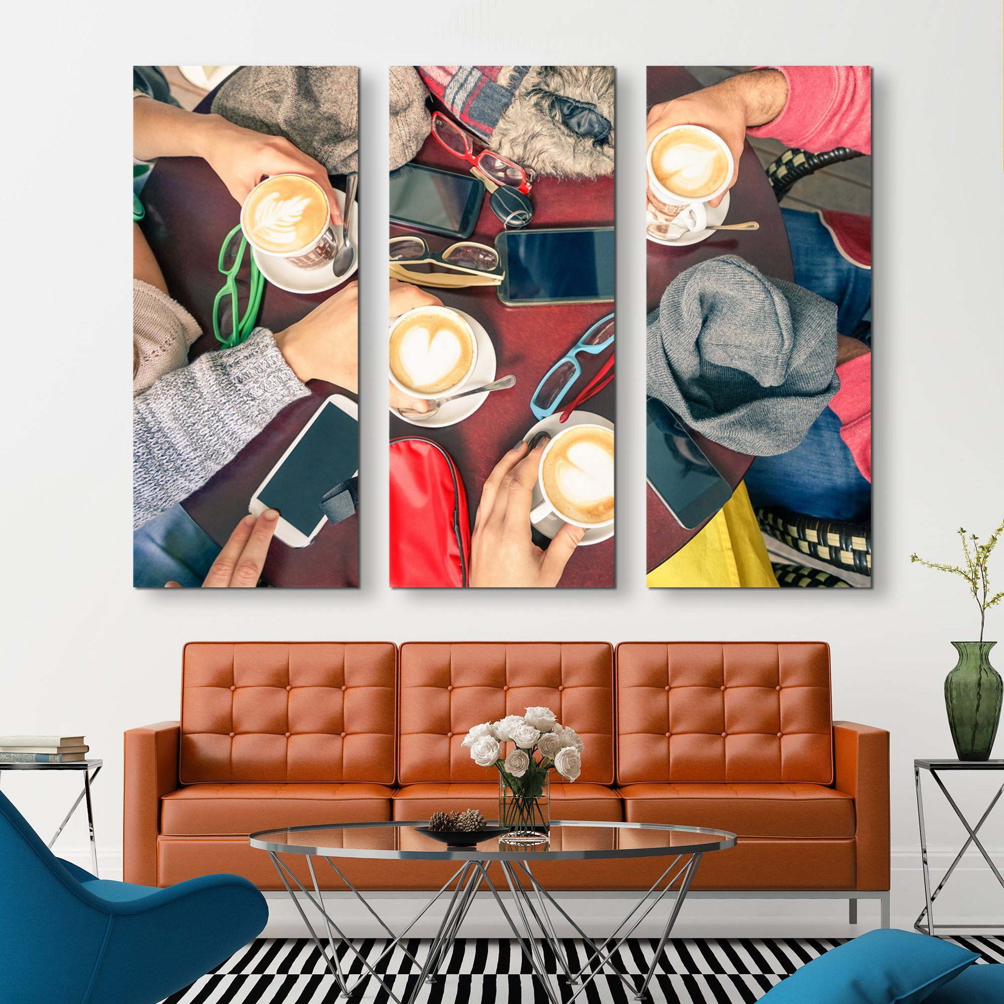 3 piece Friend Zone wall art
