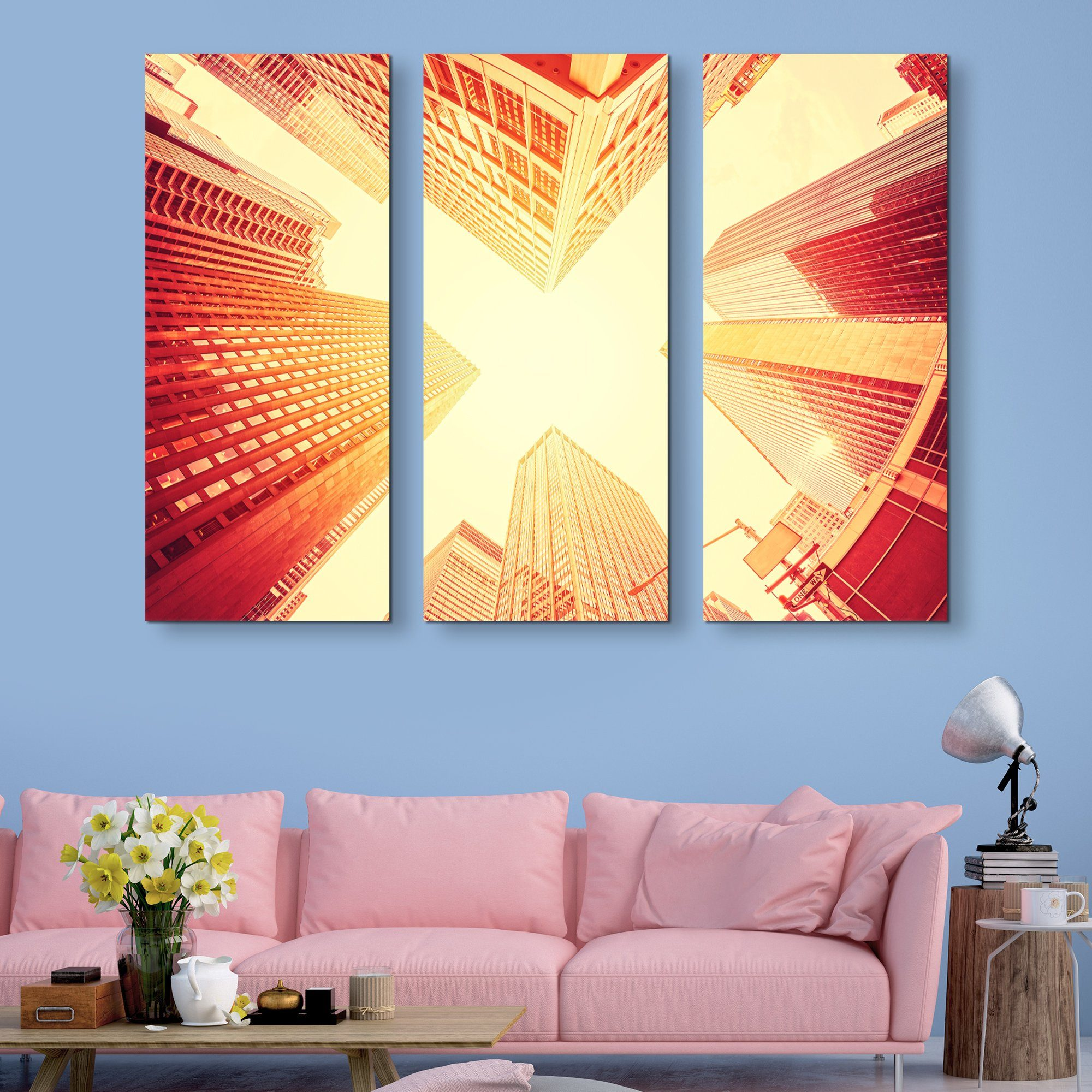 3 piece Manhattan wall art