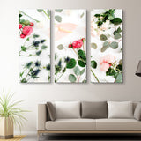 3 piece Floral Spread wall art
