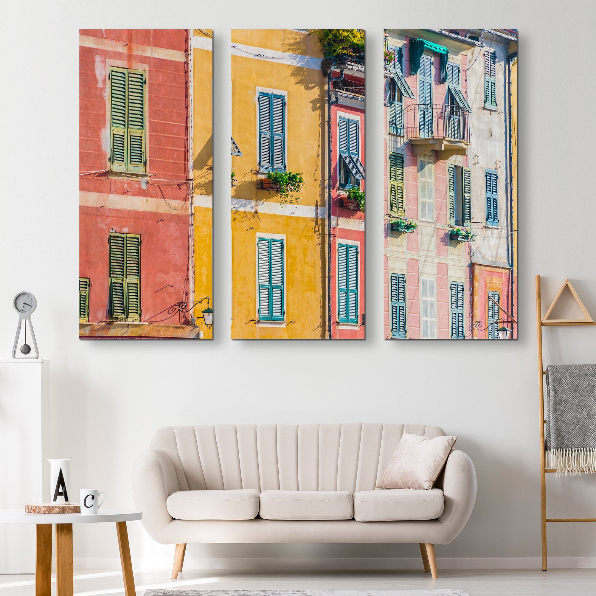 3 piece Architecture in Italy wall art