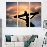 3 piece Jesus Christ's Sacrifice wall art