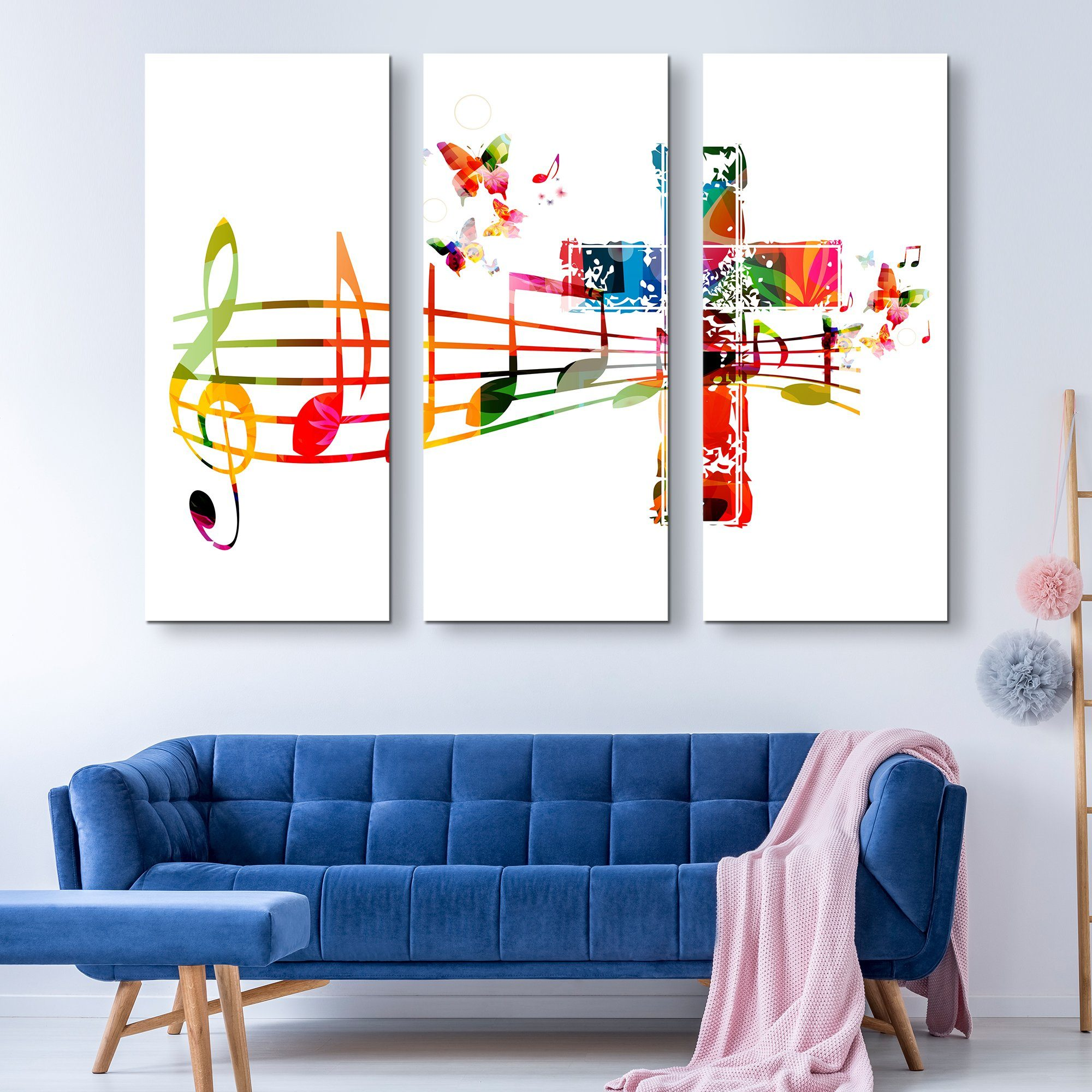 3 piece Sound of the Cross wall art