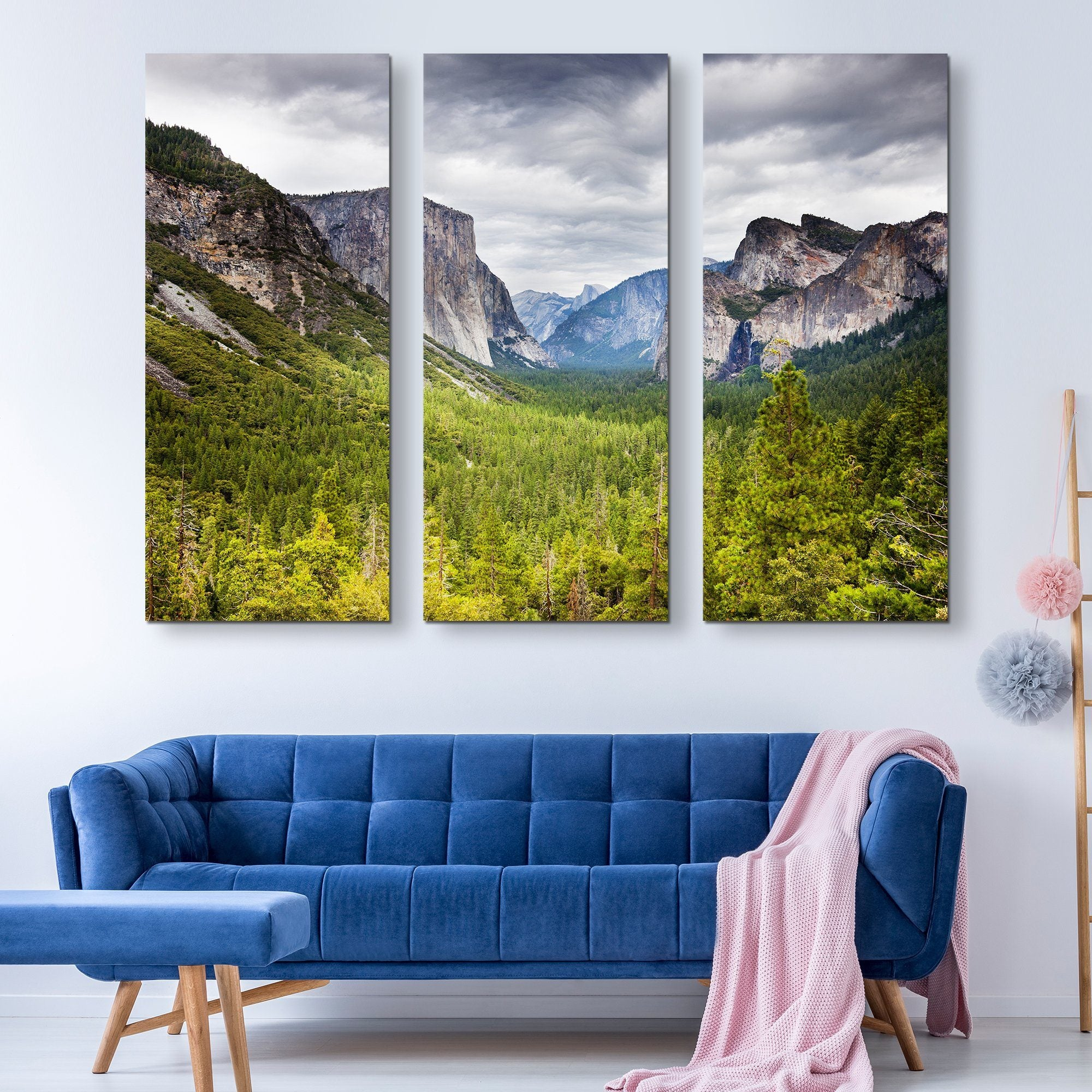 Yosemite  wall art 3 piece